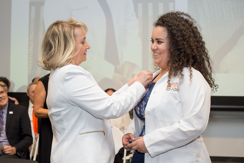Dental Hygiene pinning  and awards program, April 28, 2017.